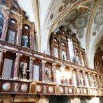 Santa Maria delle Grazie - Interno con i pannelli lignei