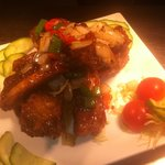 Spare ribs with honey & black pepper