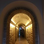 Beautiful lighting in the entrance hallway