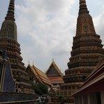 Stupas at Wat Pho