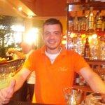Pandelis! Best bartender in all of Greece!