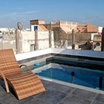 Roof terrace dip pool