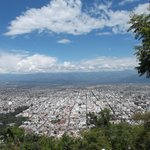 Salta, Argentina, Teleférico. Vista de Salta desde Cerro San Bernardo.