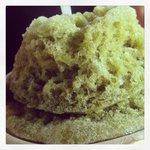 Green Tea Shaved Ice