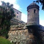 Uma das torres de vigia da Fortaleza, logo ao chegar.