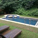Pool in our cottage