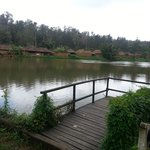 The river in the resort