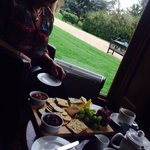 Enjoy views xx cheese platter yum