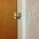 Broken entry lock