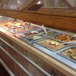 hot buffet at Brown's