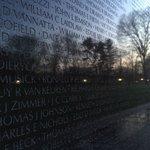 Pre Sunrise at the Vietnam Veterans Memorial