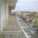 Vista da balcone camera lato strada