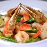 Cassolette de fruits de mer