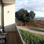 Vista desde el balcón de la junior suite