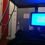Having just arrived at Pod 39; very comfortable bunk