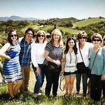 A gorgeous day in wine country exploring the vineyard with family!