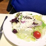 Good side salad at Agean, Framingham