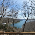view from the deck, cottage 6