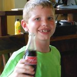 CR soda does not use hi-fructose corn syrup and our kids thought it tasted better