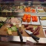 Reiche Wurst und Käse Platte