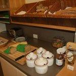 Reiche Brot- und Brötchen-Auswahl