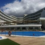 hotel from the pool