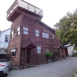 Redwood Tower with rooftop view deck