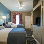 Enjoy the convenience of two twin beds