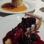 cheesecake e pannacotta al caramello