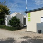 WIFI area and Individual showers/toilets