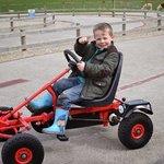 fun on the go-karts