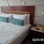 La habitacion igual que en la foto de la pag del hotel