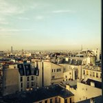 Amazing Paris views from our room!