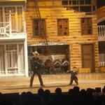 O filho do Beto Carrero encenando a peça teatral o sonho  de cowboy