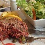 steak tartare a la Malakoff