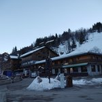 Hotel and Meribar opposite Chaudanne lifts