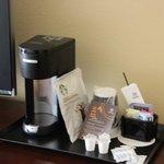 Coffe machine / Room