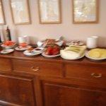 Villa Soro Breakfast