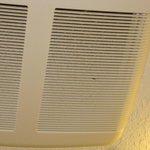 Bathroom fan - very dirty