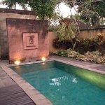 Private Pool at the villa