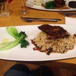Double roasted duck