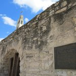 The Alamo Side View