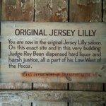 Inside ORIGINAL Jersey Lily Saloon