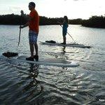 Sunset paddling cruise