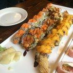 Mexican shrimp tempura, Las Vegas , Mango shrimp. Delicious!