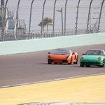 Lamborghini and Porsche head to head