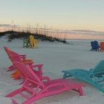 Fantastic new beach chairs