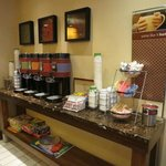 Variety of coffees & tea