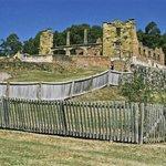 Ruins at Port Arthur