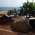 Jacuzzi suite private deck